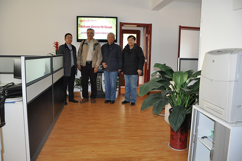 Iran Customer Viste Factory
