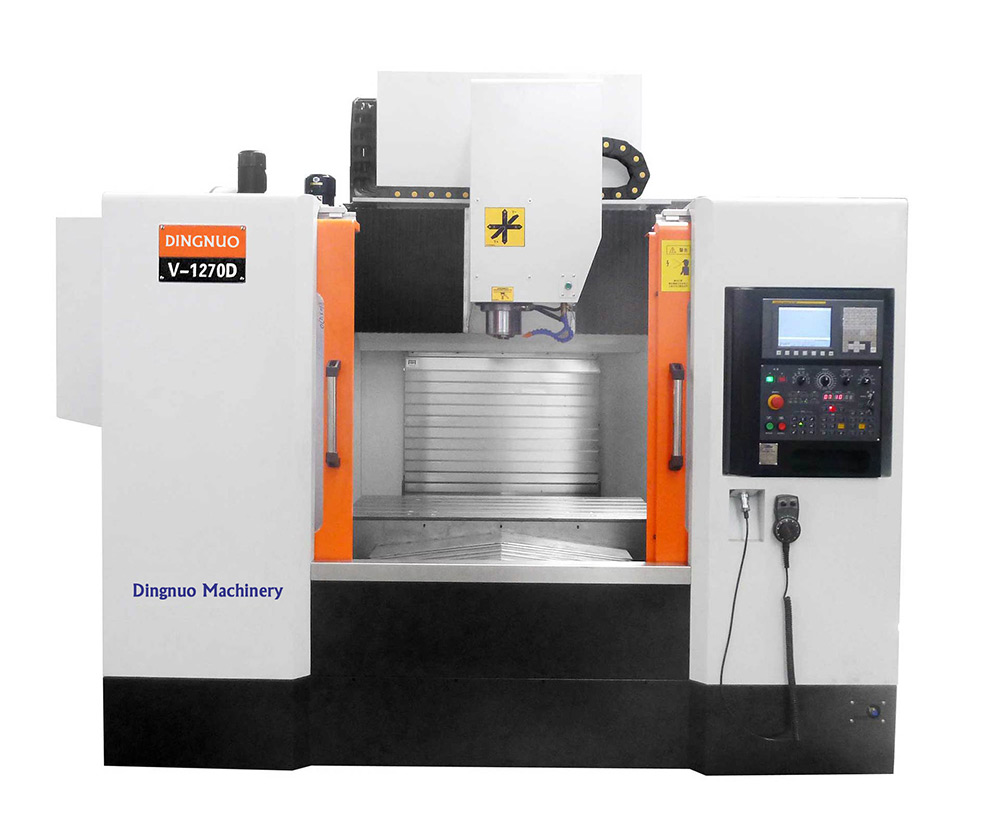 1270D Heavy Duty CNC Vertical Milling Machine Center